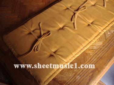 Jansen Piano Bench Cushions